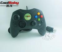 original xbox joystick großhandel-Klassische Wired Joypad Controller für Microsoft Original Xbox Controller für XBOX Black Gamepad Retro Joystick Controle