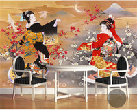 Wholesale Housing Shop - Japanese Design Photo Wallpaper Wall Mural 3D Wallpaper Rolls Shop Restaurant Wall Decorative papel mural papier peint mural 3d