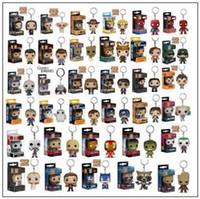 Wholesale pop figures - Funko Pop Movies Superhero Superman of Anime Movie Collection Action Figure Model PVC Keychain Novelty Items CCA9593 50pcs