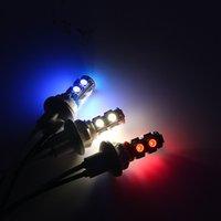 motocicleta, lâmpada, volta venda por atacado-10 PCS Pedal Motocicleta Luzes Acessórios Modificados, Luzes de Nevoeiro Luzes Do Instrumento, Ligue as Lâmpadas, Acenda as Luzes LED Espuma Bolha Assento