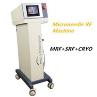 Wholesale remover pen resale online - fractional rf microneedle machine micro needling derma pen rf facial lifting Microneedle Fractional RF for wrinkle removal