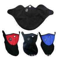 rüzgar koruması maskeleri toptan satış-Sonbahar ve kış açık sporları sıcak rüzgar ve toz açık termal koruma solunum valfi maskesi