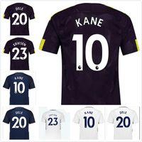 Wholesale premier league football shirts - 2017-18 Spurs Futbol Camisa Kane Lamela Dele Davies Eriksen Soccer Jersey Football Camiseta Shirt Maillot Premier League