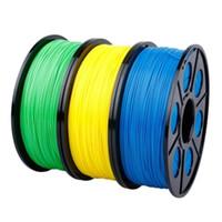 ingrosso filamento 3d 1kg-Filamento dell'ABS 3.0mm 1kg 2.2lb per stampante 3D Penna di stampa 3D per Reprap Wanhao Makerbot UP Tolleranza delle parti 0.02mm