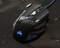 novo fio óptico venda por atacado-New Hot Professional 5500 DPI Gaming Mouse 7 Botões LED Optical USB Com Fio Ratos para Pro Gamer Computador X3 Mouse Melhor Preço