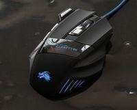 optik fare fiyatları toptan satış-Yeni Sıcak Profesyonel 5500 DPI Gaming Mouse 7 Düğmeler LED Optik USB Kablolu Fareler için Pro Gamer Bilgisayar X3 Fare En Iyi Fiyat