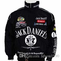 Wholesale motorcycle racing suit jacket - Hot Selling New F1 Racing Suit Jack Daniel Jackets Fall And Winter Clothes Mens Long-sleeved Jacket Motorcycle jacket Drop Shipping