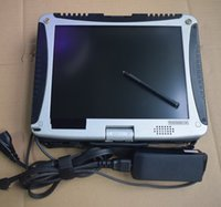 Wholesale Volvo Cars Used - Car Diagnostic Laptop CF-19 used military computer best price with battery without hdd