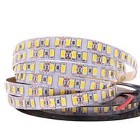 ingrosso corda luminosa-Super Bright SMD 5630 5730 led strip light 120leds / m non impermeabile Flessibile 600 LED Tape 5m DC 12V corda String String new