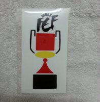 Wholesale del rey - 2012 Spain Copa del Rey Patch King's Cup Sleeve Soccer Badge Heat Transfer Soccer Patch
