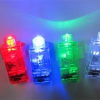 parmak lamba ışığı toptan satış-Parmak Lamba Renkli LED Lambalar Lüminesans Plastik Lazer Halka Işık Yüksek Kaliteli Küçük Elektronik Ürünler Parmaklar Oyuncaklar 0 22xq W