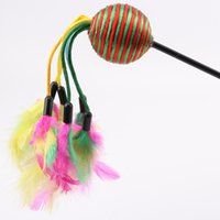 Feather cat Stick Haustier Katze Toy Classic Stil super lange Haustier Produkte