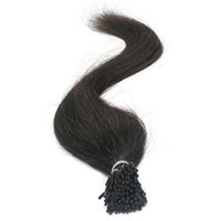 Wholesale Red Brown Hair Extensions - Pure Color 1# 99j red & Natural Color for option 200G 100% Remy Brazilian Human Hair I-Tip Full Set Prebonded Hair Extensions, Shipping free