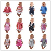 Wholesale beautiful culture - 15style Choose Beautiful Dress Clothes Wear fit 43cm Baby Born zapf, Children best Birthday Gift.10set