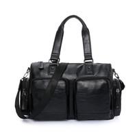 qualität reise großhandel-Männer große Vintage Gepäck Luxus Travel Duffle Multifunktions hochwertige klassische große Handtasche Geschäftsreise Reisetaschen
