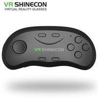 Wholesale Music Games Pc - Newest Original brand Bluetooth Remote Controller VRShinecon Wireless Gamepads Mouse Music Selfie 3D Games for iOS Android PC TV