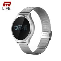 Wholesale Brown Monitor - TTLIFE Smart Watch Waterproof Blood Pressure Monitor Heart Rate Monitor Watch Women 2017 Call Reminder Smart Watches Android IOS