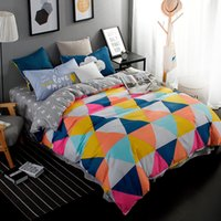 Wholesale gray orange bedding online - New design bedding sets bed sheet bedspread duvet cover flat sheet pillowcases Twin Full Queen King Super King Size