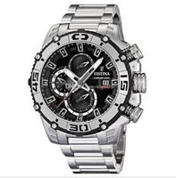 Wholesale auto bikes - Free Shipping NEW Chronograph Bike TOUR DE FRANCE 2012 Men's Watch F16599 3 with Original box