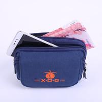 alte mans handys großhandel-2018 männer Taschen Alter Stand Brieftasche Gürtel Handy Mode Gürteltasche Freizeittasche