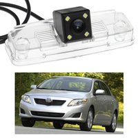 Wholesale camera for toyota corolla resale online - New LED Car Rear View Camera Reverse Backup CCD fit for Toyota Corolla Sedan