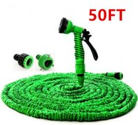 Wholesale hose pipe spray for sale - Garden Hose Expanding Magic Flexible Watering Hose Plastic Hoses Pipe With Spray Gun Tube Hoses ft Garden Water Hose