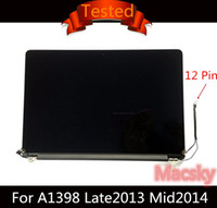 Wholesale macbook lcd resale online - Original Retina A1398 Complete LCD Display Screen Assembly for Macbook Pro quot A1398 ME293 MGXC2LL A