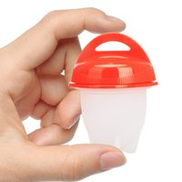 Wholesale egg cooker for sale - Mini Maker Egg Cooker Silicone Hard Boiler Eggs without the Shell Opp Bag kitchen tools set