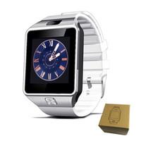 gravação de relógio grátis venda por atacado-Dz09 Relógio Inteligente GT08 U8 A1 Wrisbrand Android iPhone iwatch Inteligente SIM Inteligente relógio do telefone móvel pode gravar o sono DHL Livre OTH110