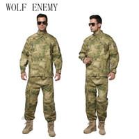 nuevos uniformes del ejército al por mayor-Nuevo US Army Navy BDU CP Multicam Camuflaje Traje Uniforme Combate Táctico Farda Only Jacket Pants
