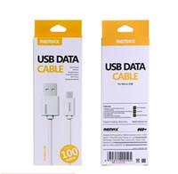 câble auxiliaire micro usb achat en gros de-Remix Câble de données de charge rapide Câble micro USB pour 6s Samsung Sony HTC Huawei Câble USB Nokia avec boîte de vente au détail