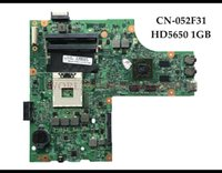 Wholesale laptop 15r - High quality CN F31 for Dell Insprion R N5010 Laptop Motherboard HH01 HM57 PGA989 DDR3 HD5650 GB Fully Tested