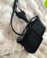 2pcs multi-function 800 type model tens product With the charger wire and nylon bag black