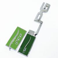 chevrolet çıkartmaları çıkartmaları toptan satış-3D Çinko alaşım Metal LPG EKO Logosu Amblem Badge Çıkartmaları Araba sticker Araba Styling Için Chevrolet cruze captiva aveo lacetti