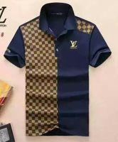hip hop t-shirt blau großhandel-Neue 2018 Großhandel Kleidung Männer G T-Shirts Vollbild Tiger Druck Hip Hop Kleidung Herren Designer Shirts plus Größe blau Khaki 815--