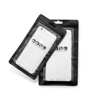 fallgeschäfte großhandel-Fall Verpackung Taschen weiß schwarz Zip-Lock Handy-Zubehör Fall Kopfhörer Shopping Packsack OPP PP PVC Poly-Kunststoff-Verpackung Tasche