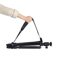 ingrosso foto veloce-Regolabile con sgancio rapido Treppiede Monopiede Tracolla Light Stand Sospensore Carryin per kit di Photo Studio