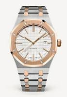 medidor hombre al por mayor-Relojes de lujo para hombre Reloj para hombre superior Relojes automáticos modelo 15400ST Reloj deportivo de acero inoxidable 30 metros reloj de pulsera impermeable
