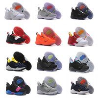 Wholesale Mesh For Sale - 2018 Top quality Paul George PG1 Shining Ferocity Men's Basketball Shoes for Cheap Sale PG 1 Los Angeles Home Sports Sneakers Size 40-46