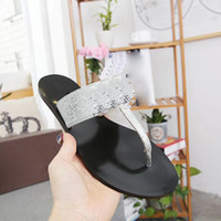 Wholesale black shoes low silver heels resale online - European big size luxury goods style women s shoes sandals slippers toe slippers golden stars genuine leather shoes low heel