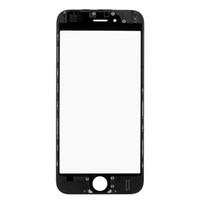 iphone 5s bezel değiştirme toptan satış-(Moq 50 adet) ön cam panel + çerçeve çerçeve iphone 5 5s 6 6s 7 8 artı lcd dış dokunmatik ekran paneli değiştirme DHL gemi