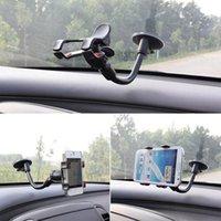 окно держателя телефона оптовых-Suck Holder Sticky Автомобильный держатель телефона окна Лобовое стекло Держатель для iPhone 6 5S Вращающийся кронштейн для Samsung GPS