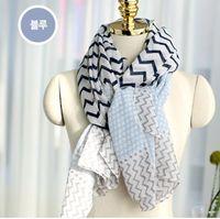 Wholesale snood resale online - 2018 New Fashion viscose Scarf Dot Wave Print Scarfs Snood Women voile Scarves Shawls Big Size