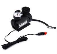 car tire pump оптовых-New12V 300PSI автомобильный велосипед шины шины Inflator Pump Toys спортивный электрический насос портативный мини компактный компрессорный насос шиномонтажный воздушный инфлятор