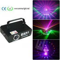Wholesale Lasers 1w - New 1000mW 1W ilda RGB Full Color Animation Laser Projector Stage Light ILDA DMX