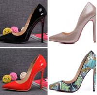 wild stiletto schuh großhandel-Hot style fashion schlange leder spitze stiletto heels schwarz wilde top luxus frauen schuhe high-end qualität fabrik direktverkauf
