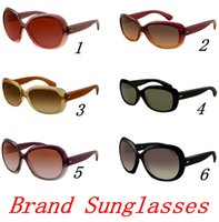 ingrosso vetro di presa-MOQ = 10pcs Occhiali da sole di marca per le donne JACKing 4101 Nylon Cornice quadrata lente di vetro Protezione UV400 di qualità superiore SOLO OCCHIALI DA SOLE