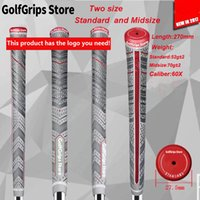 Wholesale Iron Grips - New in 2017 Golf Grips align Spot sale 13pcs lot golf club grips iron and wood plus4+ grip Standard And Midsize