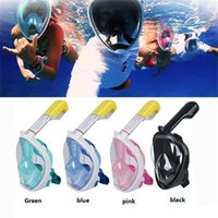Wholesale Underwater Scuba Cameras - Brand Underwater Diving Mask Snorkel Set Swimming Training Scuba mergulho full face snorkeling mask Anti Fog camera stand M481