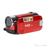 audio video versteckte dvr kameras großhandel-POLOSHARPSHOTS 2.7 Zoll TFT HD Digital Kamera Video Camcorder Kamera 1080 P DV DVR 16X LCD Digital Zoom 16MP CMOS Digital Video
